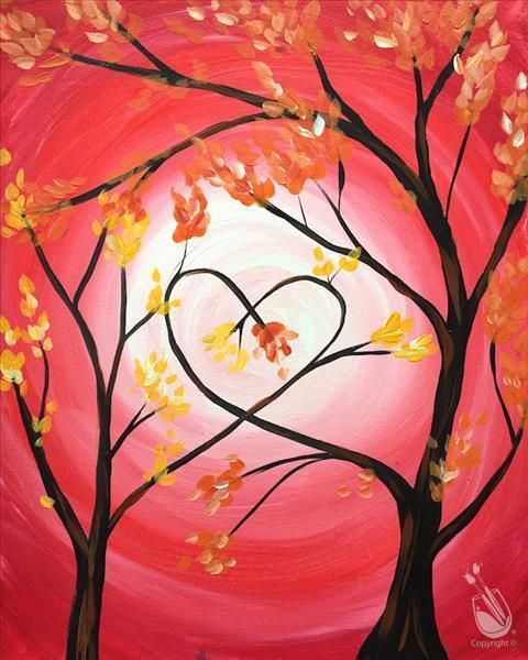 Mother's Day! Love Trees For Mommy & Me At Painting With A Twist