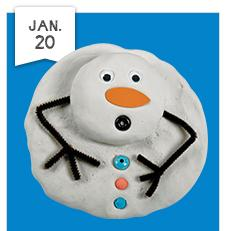 Lakeshore Free Crafts For Kids Melting Snowman Kids Out And