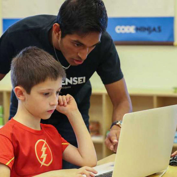 Beginning JavaScript | Code Ninjas Round Rock | Kids Out and